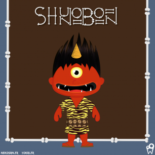 William Bichet : shunobon (yokai) - nekosan.fr
